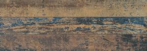 14 Ora Italiana Ruggine Ruggine NICHEL 7,2x60 , Salle de bain, Séjour, Cuisine, Effet effet métal, Grès cérame non-émaillé, revêtement mur et sol, Surface mate, Bord rectifié