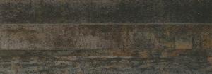14 Ora Italiana Ruggine Ruggine TITANIO 7,2x60 , Salle de bain, Séjour, Cuisine, Effet effet métal, Grès cérame non-émaillé, revêtement mur et sol, Surface mate, Bord rectifié