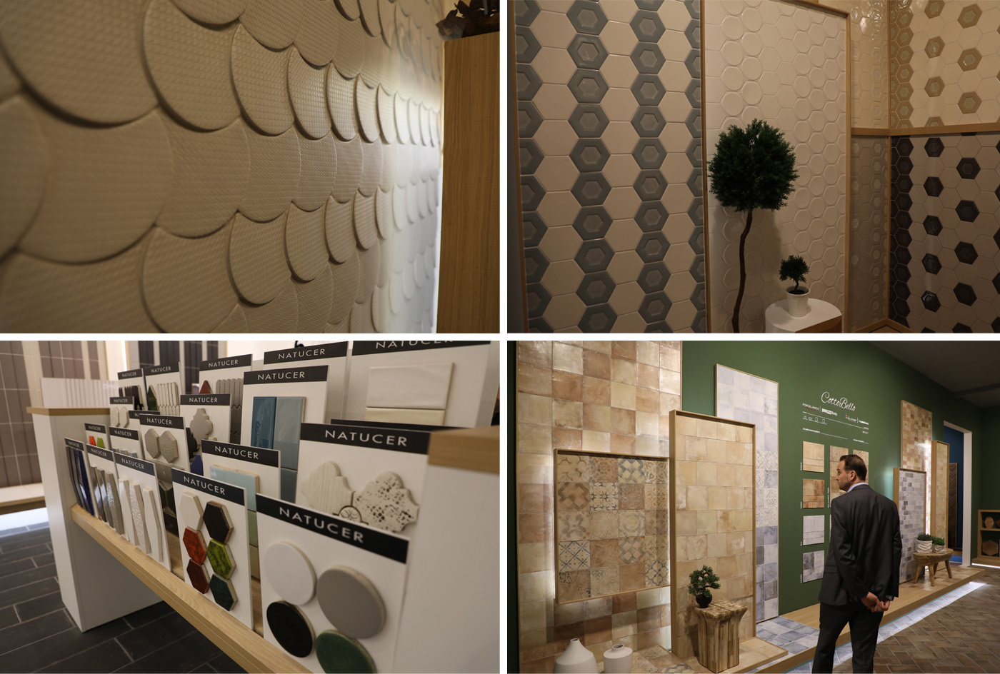 Ceramic and Porcelain Tiles by Natucer