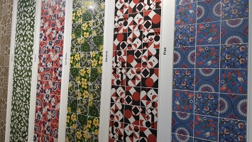 Overview of Cersaie 2018 Ceramic Tile Exhibition  Bologna, Italy