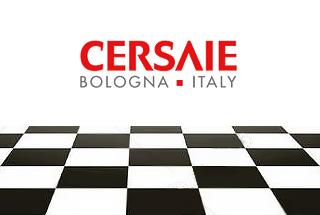 Aperçu du salon international de la céramique Cersaie 2018. Bologne, Italie