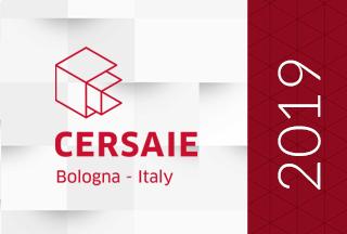 Aperçu du salon de carrelage Cersaie 2019 (Bologne, Italie)