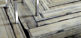 Der italienische Feinsteinzeug in Holzoptik. Neue Tendenze im Design und in der Herstellung.