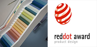Das Feinsteinzeug Revigres Cromatica ist ein Preisträger Red Dot Design Award 2015