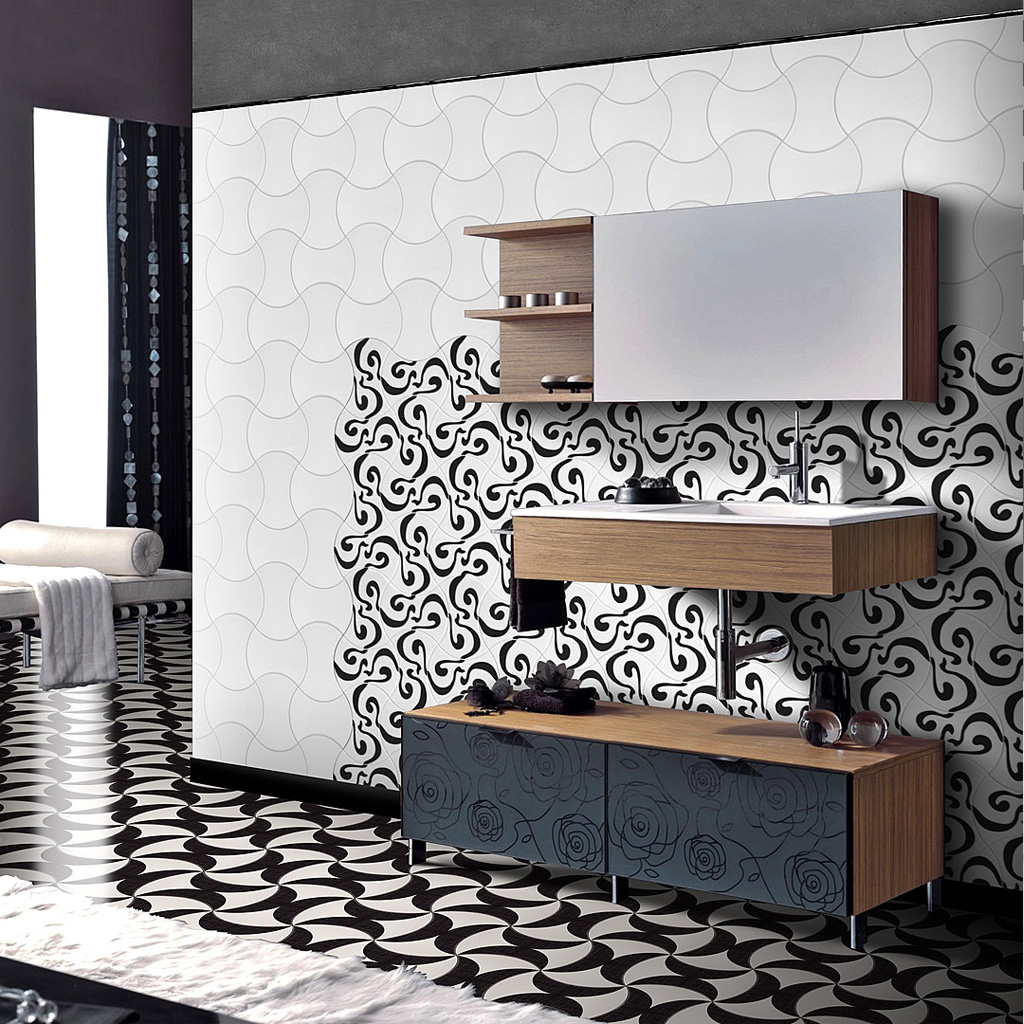 DIAVOLO Ceramic Tiles by Cobsa