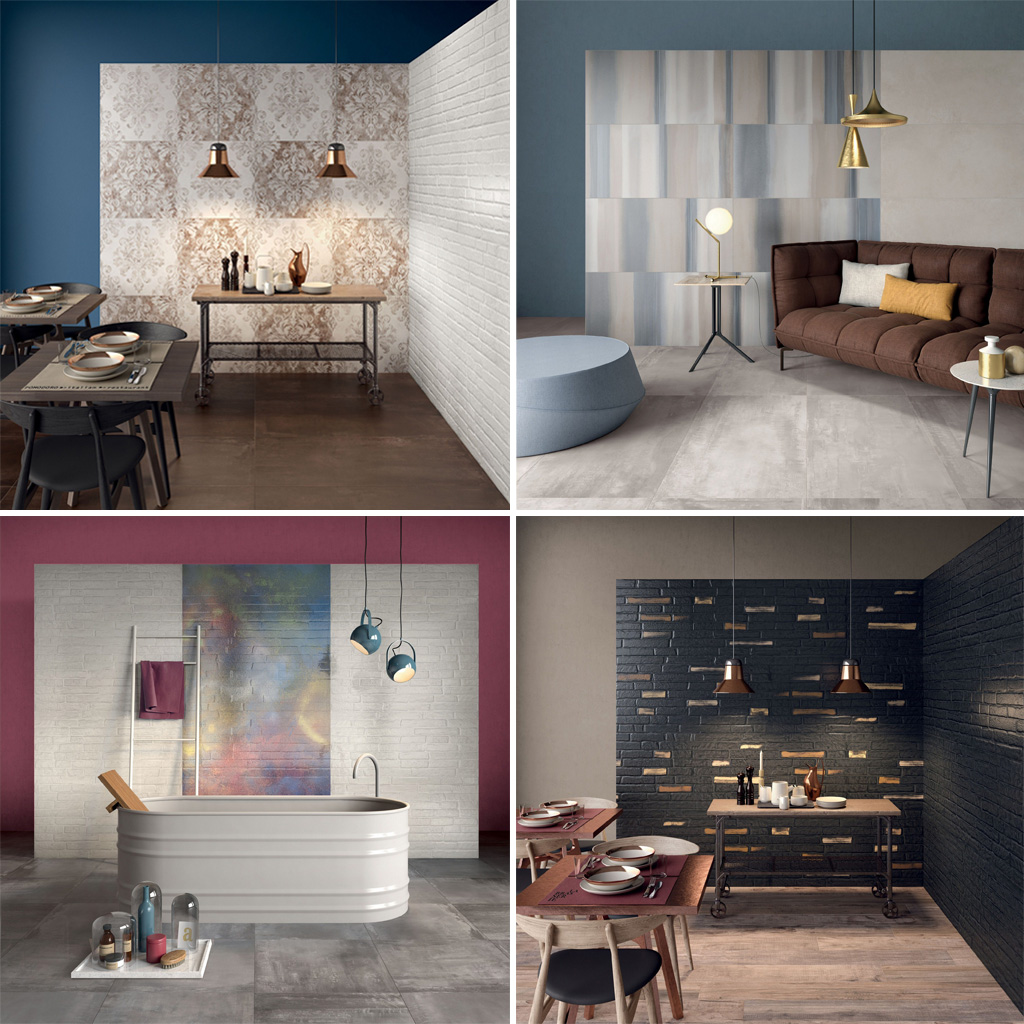 Ceramic and Porcelain Tiles by ABK Ceramiche