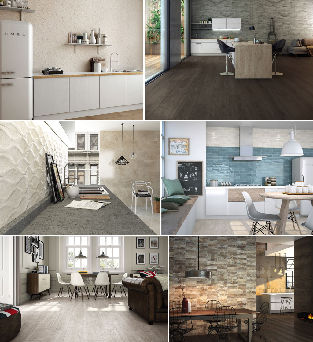 Ceramic and Porcelain Tiles by Cifre Ceramica