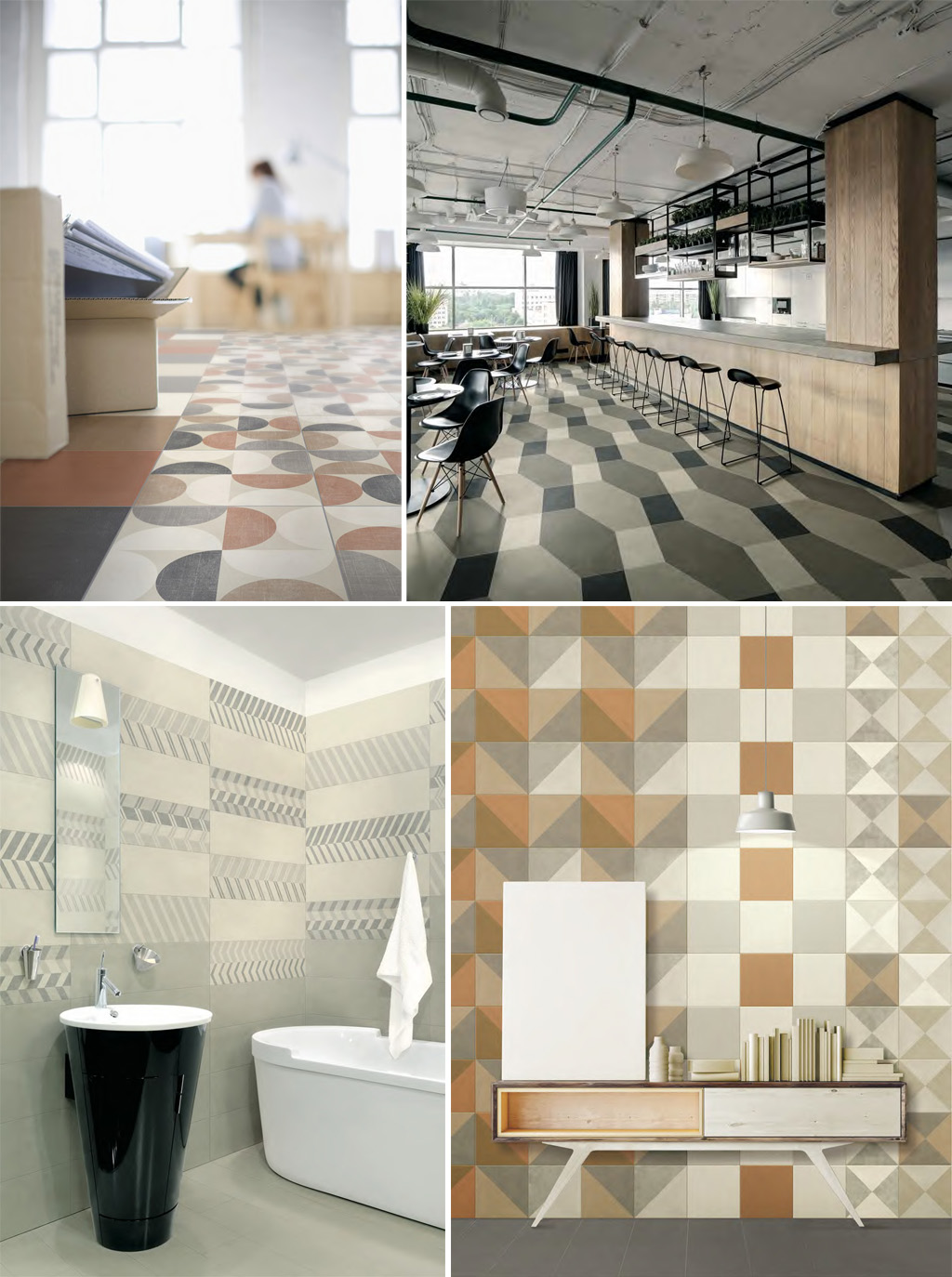Ceramic and Porcelain Tiles by Verso25