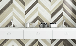 Chevrons. Rediscovery of Cersaie 2015