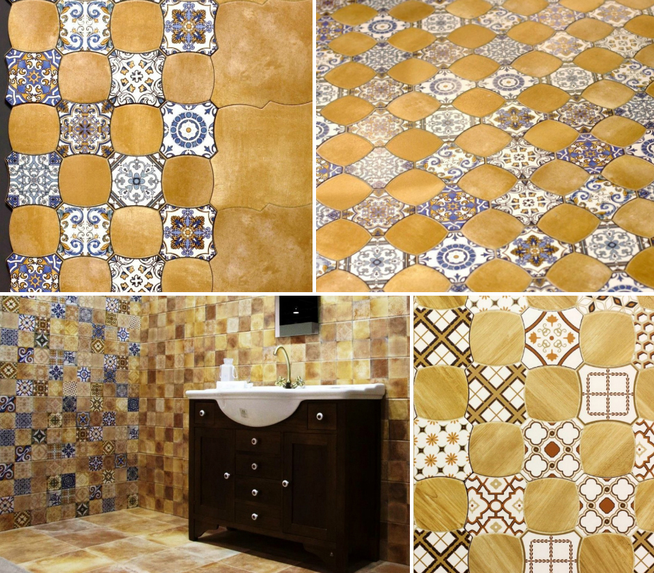 Ceramic and Porcelain Tiles by Cristal Ceramicas