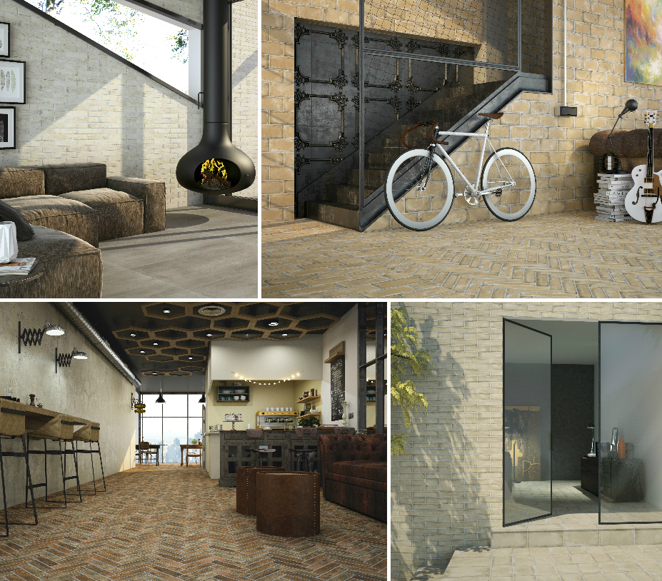 Ceramic and Porcelain Tiles by Ape Ceramica