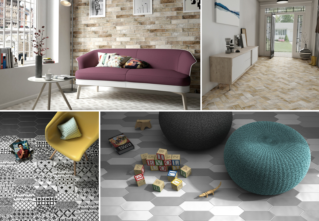 Ceramic and Porcelain Tiles by Equipe Ceramicas