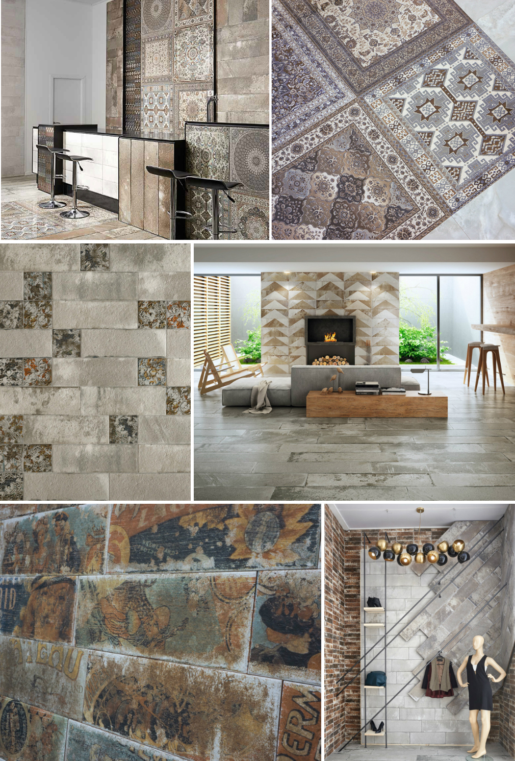 Ceramic and Porcelain Tiles by Ceramicas Aparici