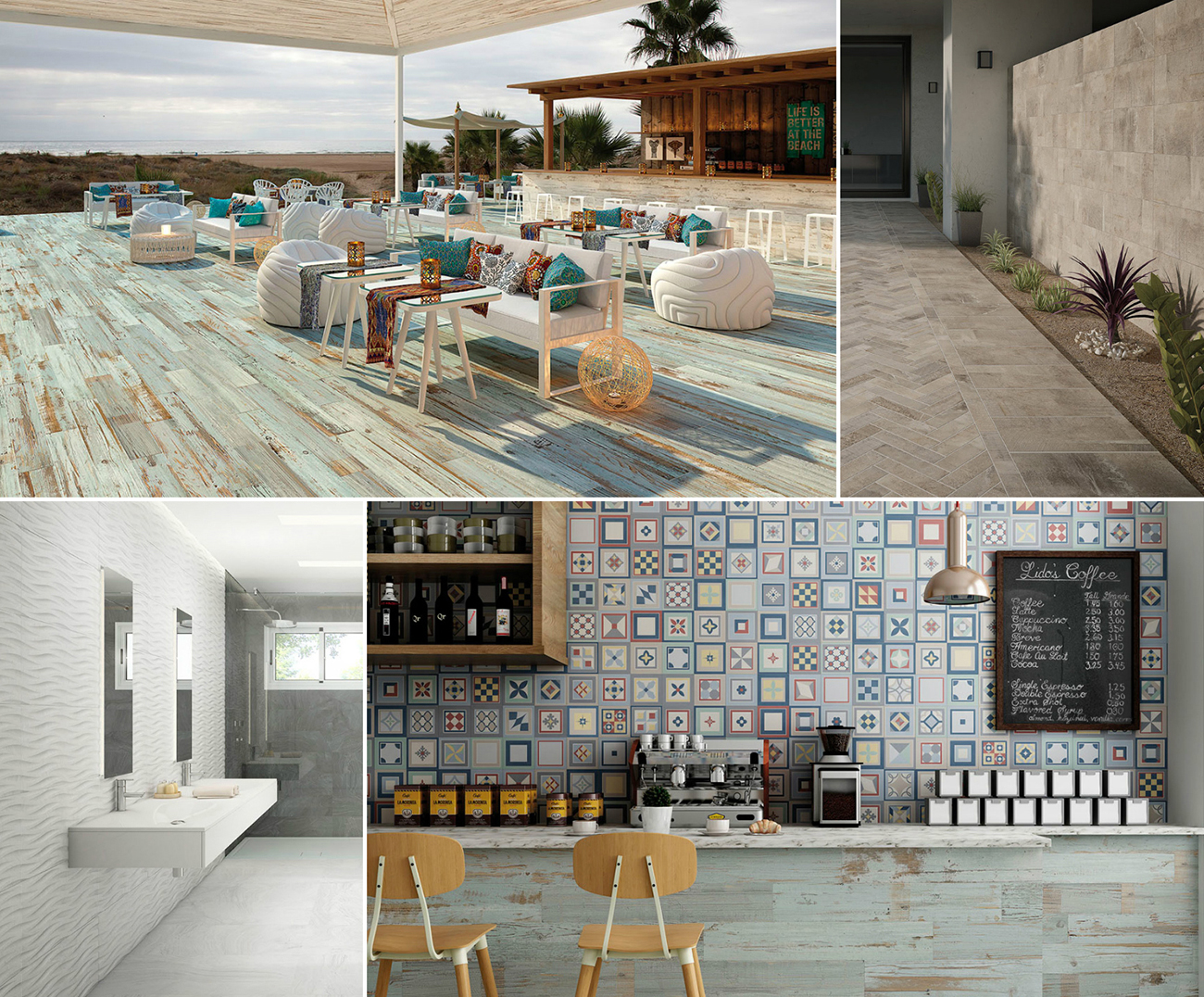 Ceramic and Porcelain Tiles by Gayafores