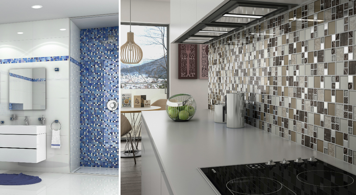 CARNAVAL Mosaic Tiles by Intermatex