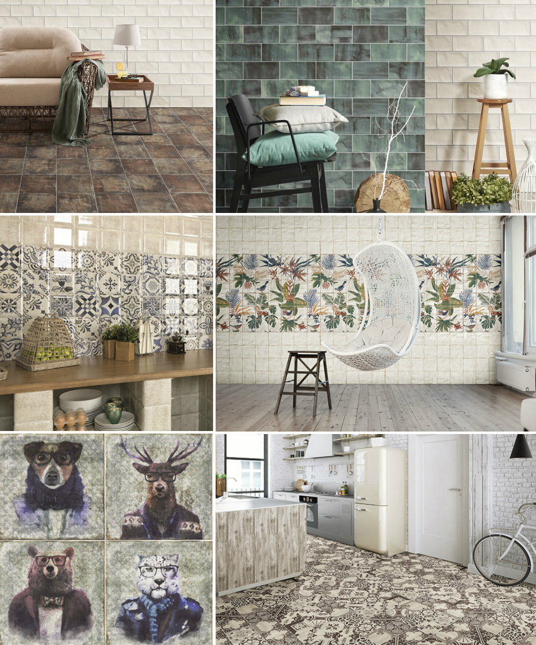 Ceramic Tiles by Mainzu Ceramica
