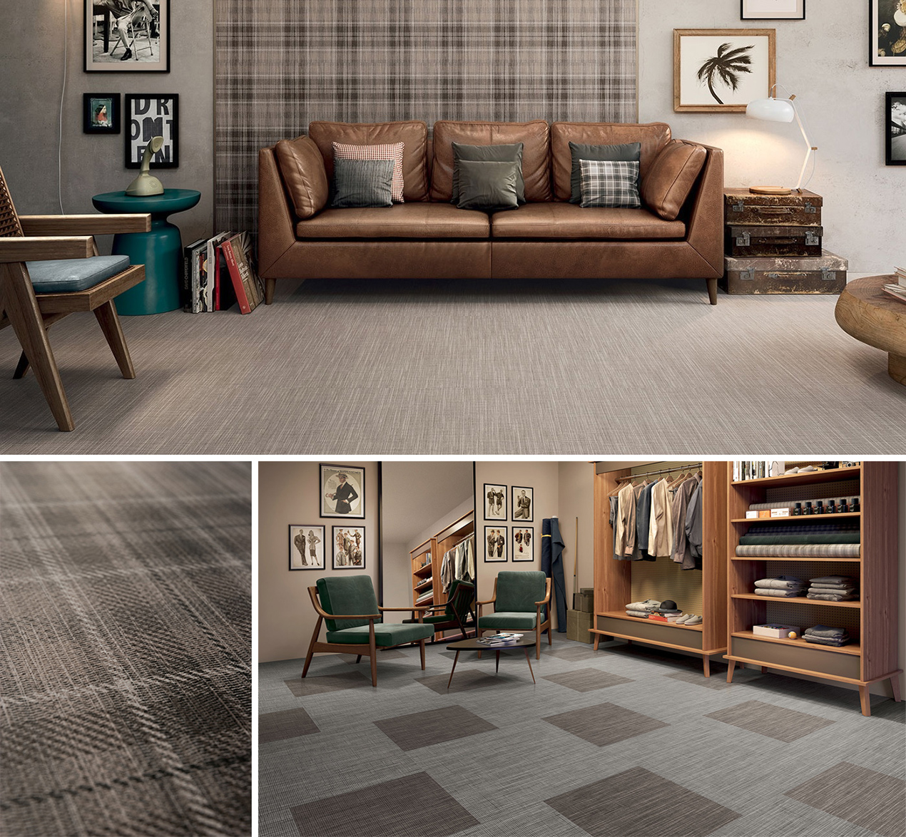 Ceramic and Porcelain Tiles by Ceramica Sant'Agostino