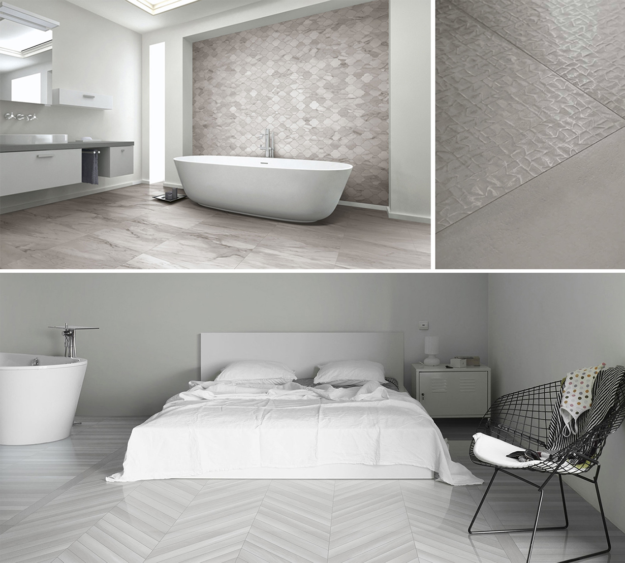Ceramic and Porcelain Tiles by Vallelunga Ceramica