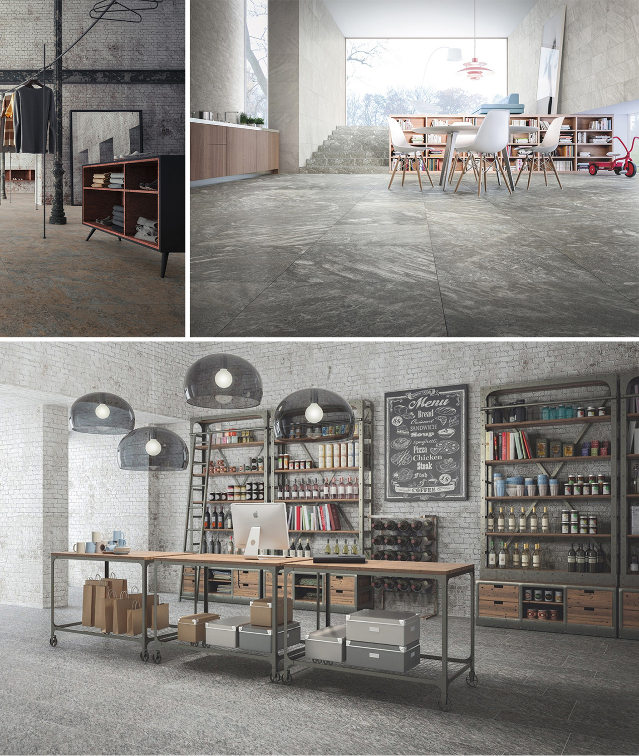 Porcelain Tiles by Ceramiche Refin