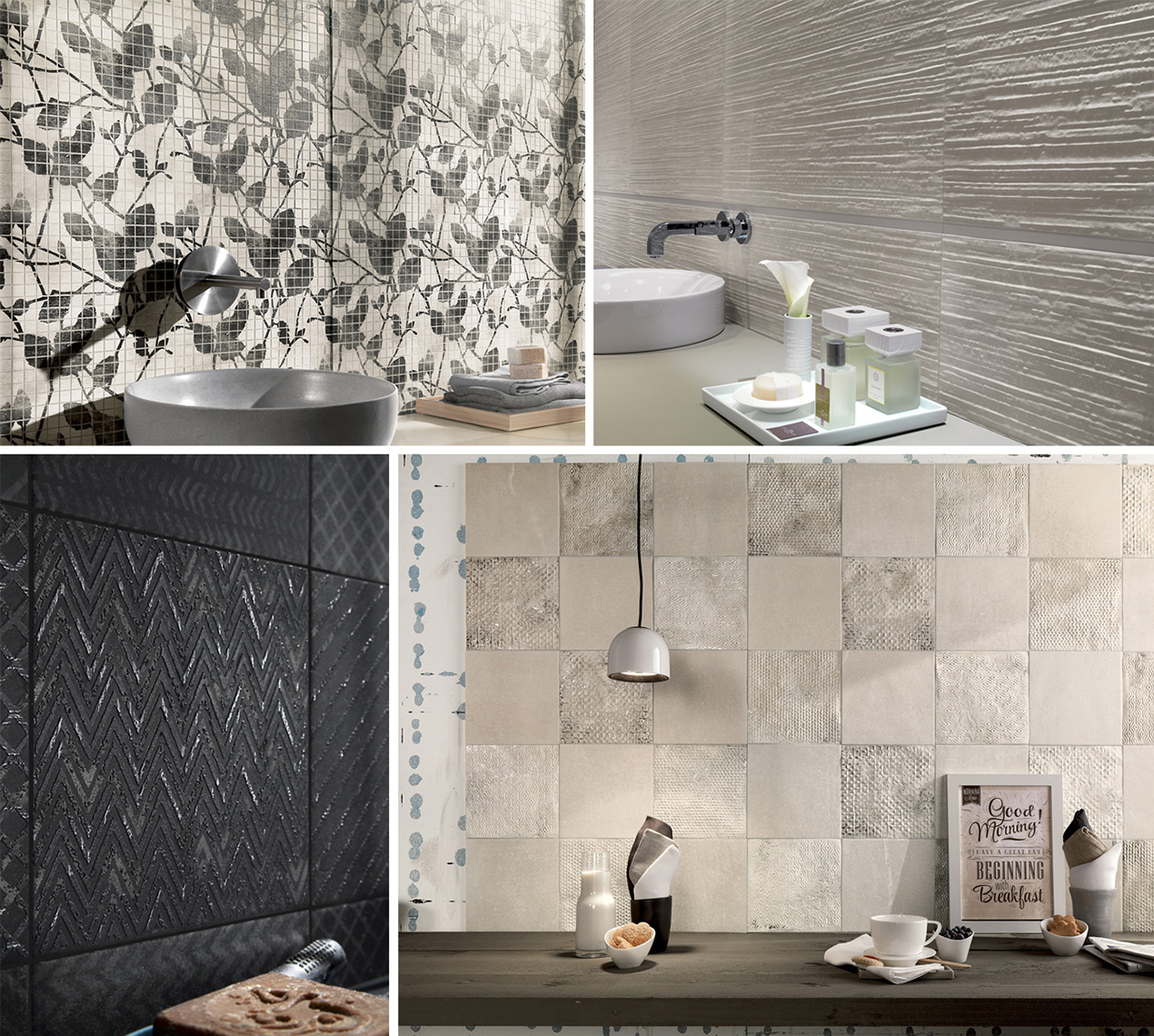 Ceramic and Porcelain Tiles by FAP Ceramiche