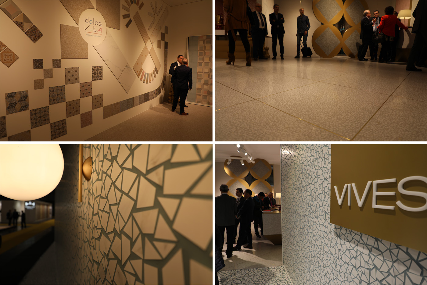 Ceramic and Porcelain Tiles by Vives Azulejos y Gres