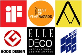 Nouveauté sur notre site: toute une section consacrée aux collections ayant gagné des prix de design prestigieux