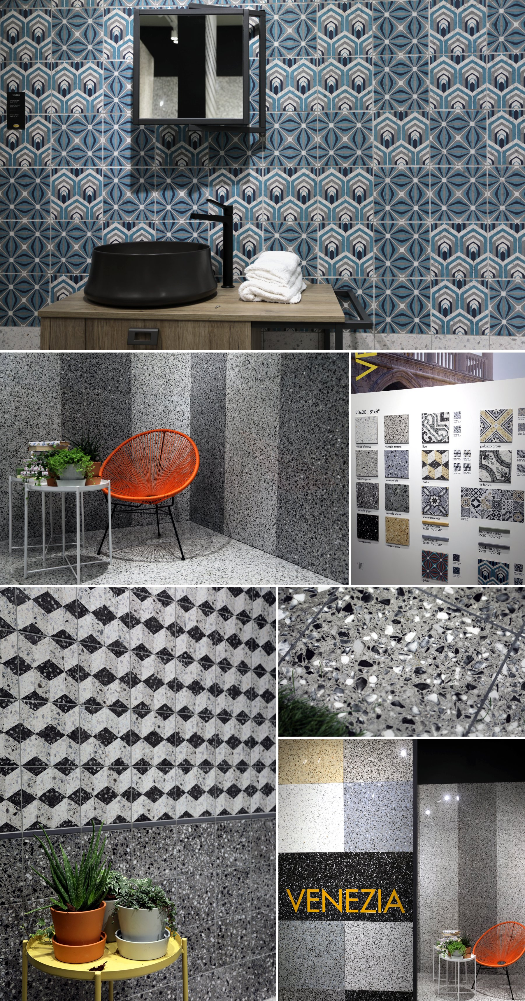 Ceramic Tiles by Serenissima Cir Industrie Ceramiche