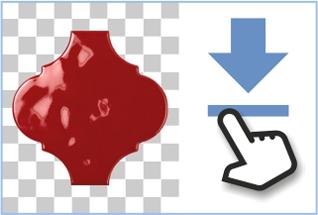 Le site dispose d'un service pratique permettant aux architectes de télécharger des images du carrelage pour l'utilisation dans le logiciel de rendu