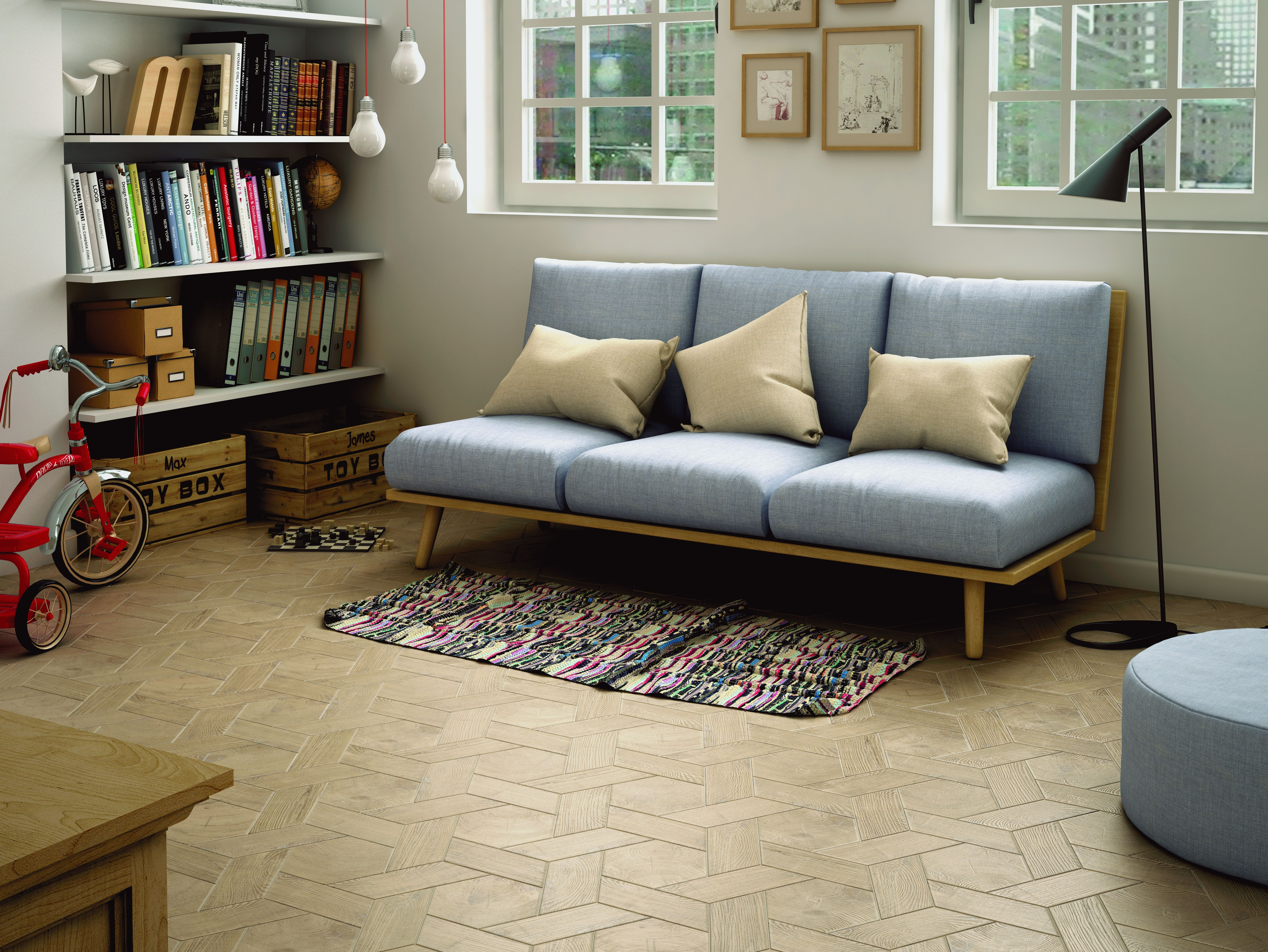HEXAWOOD Ceramic and Porcelain Tiles by Equipe Ceramicas