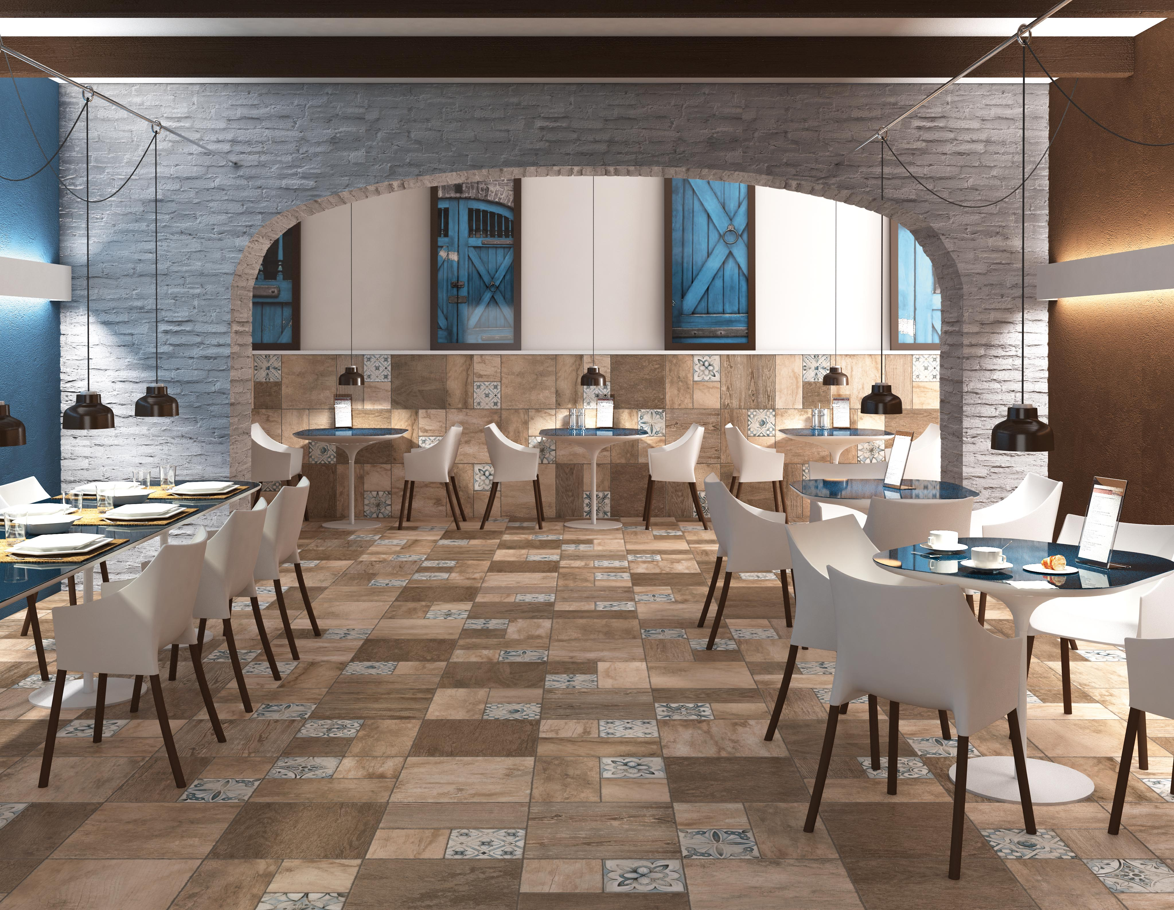 PATCHWOOD Ceramic and Porcelain Tiles by Arcana Ceramica