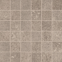 ABK Ceramiche Unika UKR09151_30X30Mos.Quadr.UnikaGreyRett , Public spaces, Kitchen, Bathroom, Living room, Outdoors, Stone effect effect, Concrete effect effect, Wood effect effect, Patchwork style style, Glazed porcelain stoneware, wall & floor, Slip-resistance R10, R11, non-rectified edge, Rectified edge, Shade variation V3