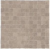 ABK Ceramiche Unika UKR09152_30X30Mos.OpusMiniUnikaGrey , Public spaces, Kitchen, Bathroom, Living room, Outdoors, Stone effect effect, Concrete effect effect, Wood effect effect, Patchwork style style, Glazed porcelain stoneware, wall & floor, Slip-resistance R10, R11, non-rectified edge, Rectified edge, Shade variation V3