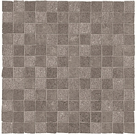 ABK Ceramiche Unika UKR09202_30X30Mos.OpusMiniUnikaSmoke , Public spaces, Kitchen, Bathroom, Living room, Outdoors, Stone effect effect, Concrete effect effect, Wood effect effect, Patchwork style style, Glazed porcelain stoneware, wall & floor, Slip-resistance R10, R11, non-rectified edge, Rectified edge, Shade variation V3