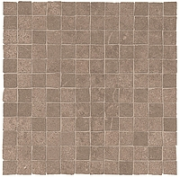 ABK Ceramiche Unika UKR09302_30X30Mos.OpusMiniUnikaBronz , Public spaces, Bathroom, Living room, Outdoors, Stone effect effect, Concrete effect effect, Wood effect effect, Patchwork style style, Glazed porcelain stoneware, wall & floor, Slip-resistance R10, R11, Non-rectified edge, Rectified edge, Shade variation V3