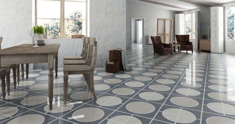 Encaustic Porcelain Tiles By Apavisa TileExpert Distributor - Faux encaustic tile