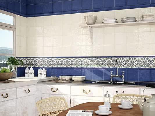 Rivestimenti Bagno Provenzale: Rivestimento Bagno Boiserie: Settecento mosaic...