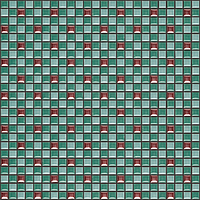 Ceramica Appiani Trio TRIO006_DIV 15 DIV 16 MTL 13 chip 1.2*1.2 , Living room, Public spaces, Bathroom, 3D effect effect, Ceramic Tile, wall & floor, 3D effect, Non-rectified edge