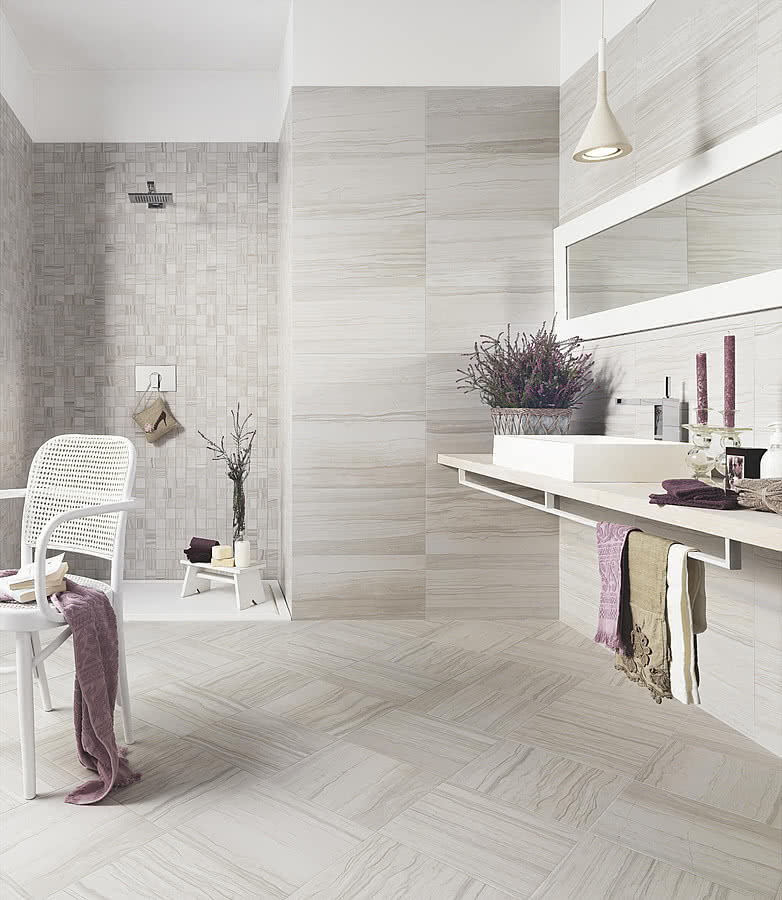 Travertino Elegance Porcelain Tiles By Ascot Tile Expert