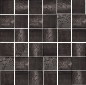 Azteca Cosmos MOSAICO COSMOS TS NEGRO 30x30 , Metal effect effect, Living room, Bathroom, Public spaces, Ceramic Tile, Glazed porcelain stoneware, wall & floor, Semi-polished surface, Rectified edge, Shade variation V4