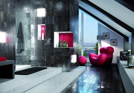 Tile Azteca Titanium