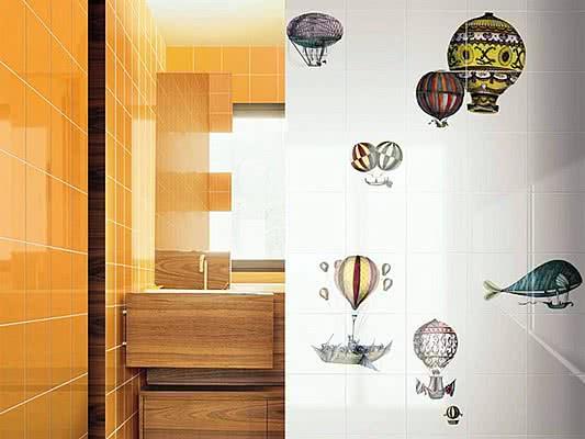 Keramikfliese fliesen macchinevolanti von bardelli tile - Bardelli ceramiche bagno ...