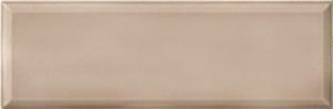 Bayker Edge 5287_Tortora 10*30 , Bathroom, Metro style style, Ceramic Tile, wall, Glossy surface, Unicolor, non-rectified edge