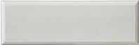 Bayker Edge 5288_Grigio 10*30 , Bathroom, Metro style style, Ceramic Tile, wall, Glossy surface, Unicolor, non-rectified edge