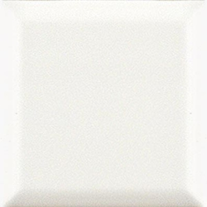 Bayker Edge 5354_Bianco 10*10 , Bathroom, Metro style style, Ceramic Tile, wall, Glossy surface, Unicolor, non-rectified edge