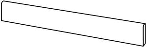 Bayker Maine Batt. Noce 6,5*120 , Living room, Bedroom, Kitchen, Wood effect effect, Glazed porcelain stoneware, wall & floor, Matte surface, Rectified edge