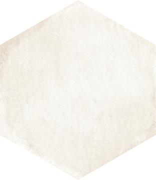 Bayker Mood 14105_MoodEsagonaWhite60*52*30 , Espace public, Effet effet béton, Grès cérame émaillé, revêtement mur et sol, Surface mate, Bord rectifié, bord non rectifié