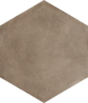 Bayker Mood 14107_MoodEsagonaMoka60*52*30 , Espace public, Effet effet béton, Grès cérame émaillé, revêtement mur et sol, Surface mate, Bord rectifié, bord non rectifié