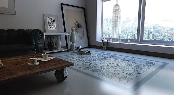 Piastrelle in gres porcellanato vintage di bestile tile expert
