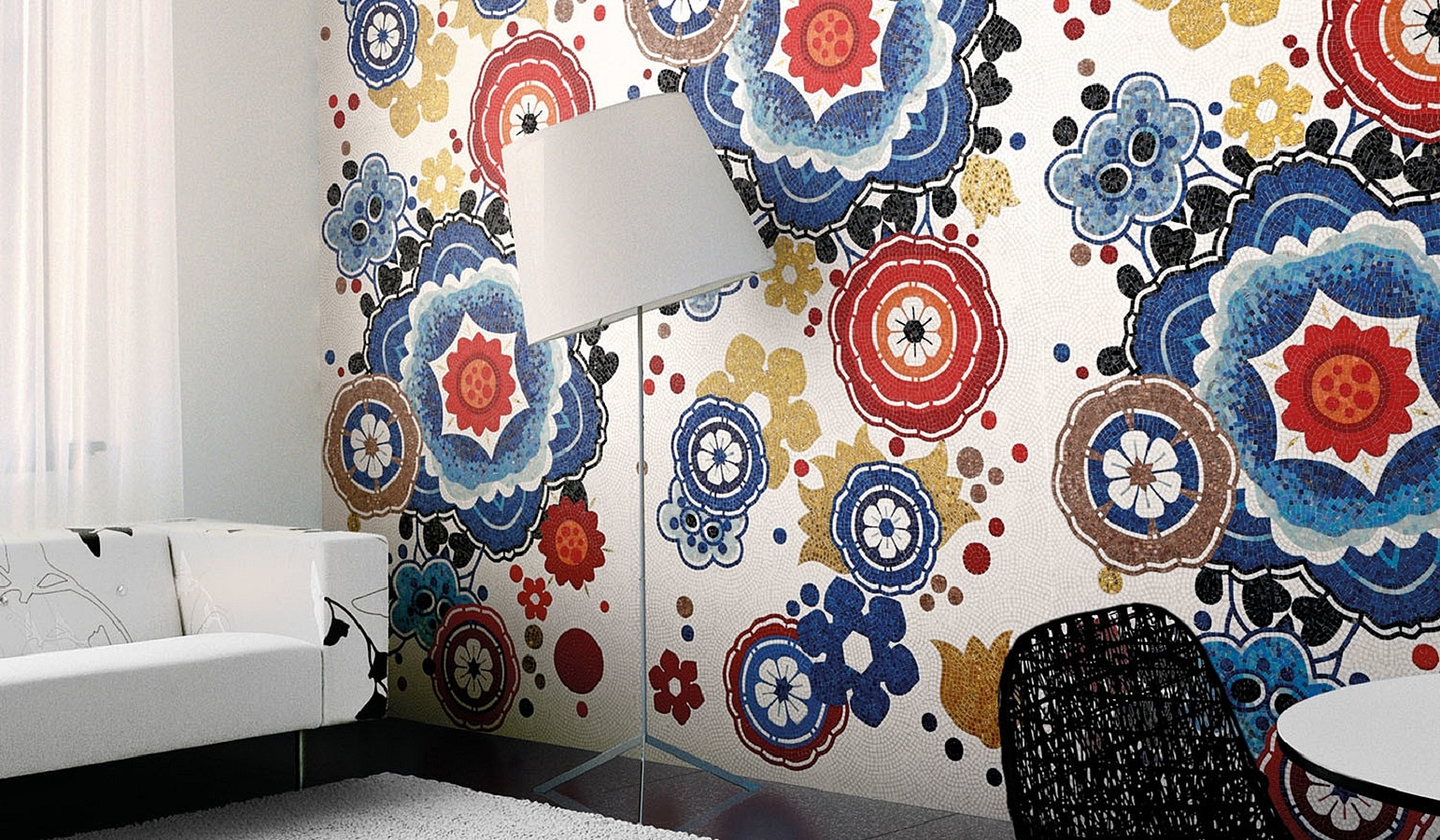 Decori in tecnica artistica de bisazza tile expert for Bisazza carrelage