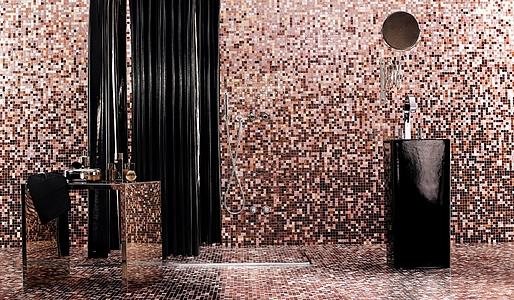 Progetto di ristrutturazione bagno con mosaico bisazza progetti